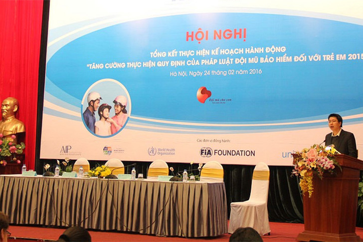 A helmet worn, a life saved…Vietnam reviews child helmet action plan