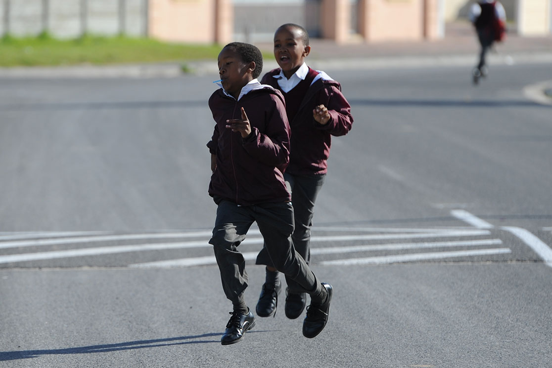 Safer journey to school