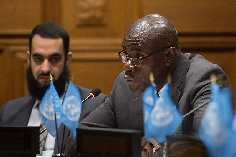 Cornelius Williams, UNICEF Global Chief of Child Protection.