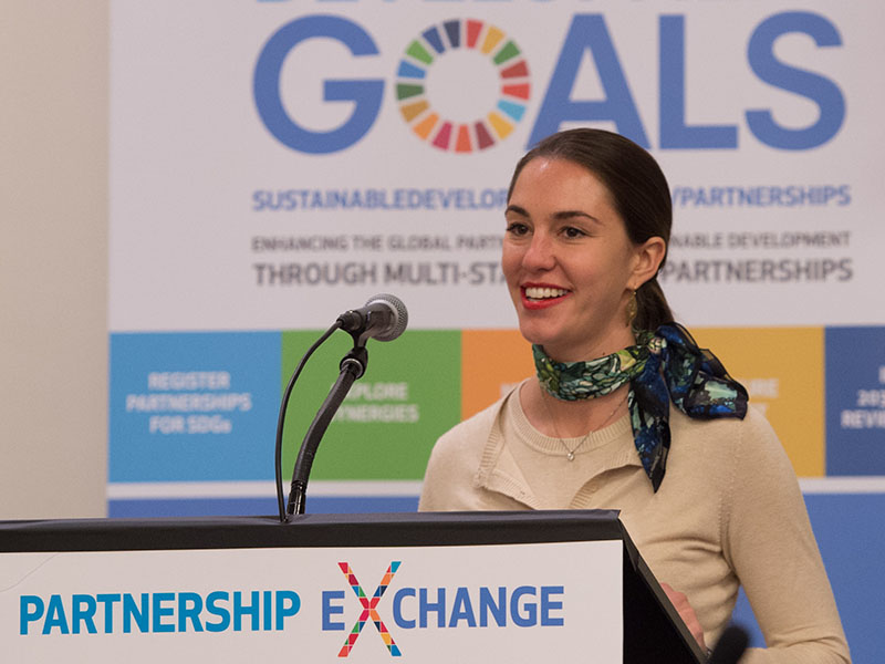 Child Health Initiative presented at Global Goals 'Partnership Exchange'
