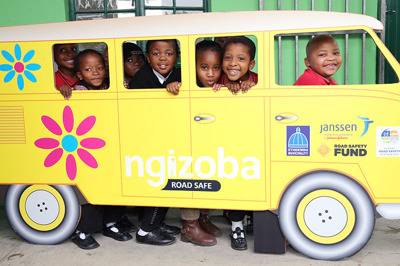 Safe Routes to School project launched in Durban, South Africa