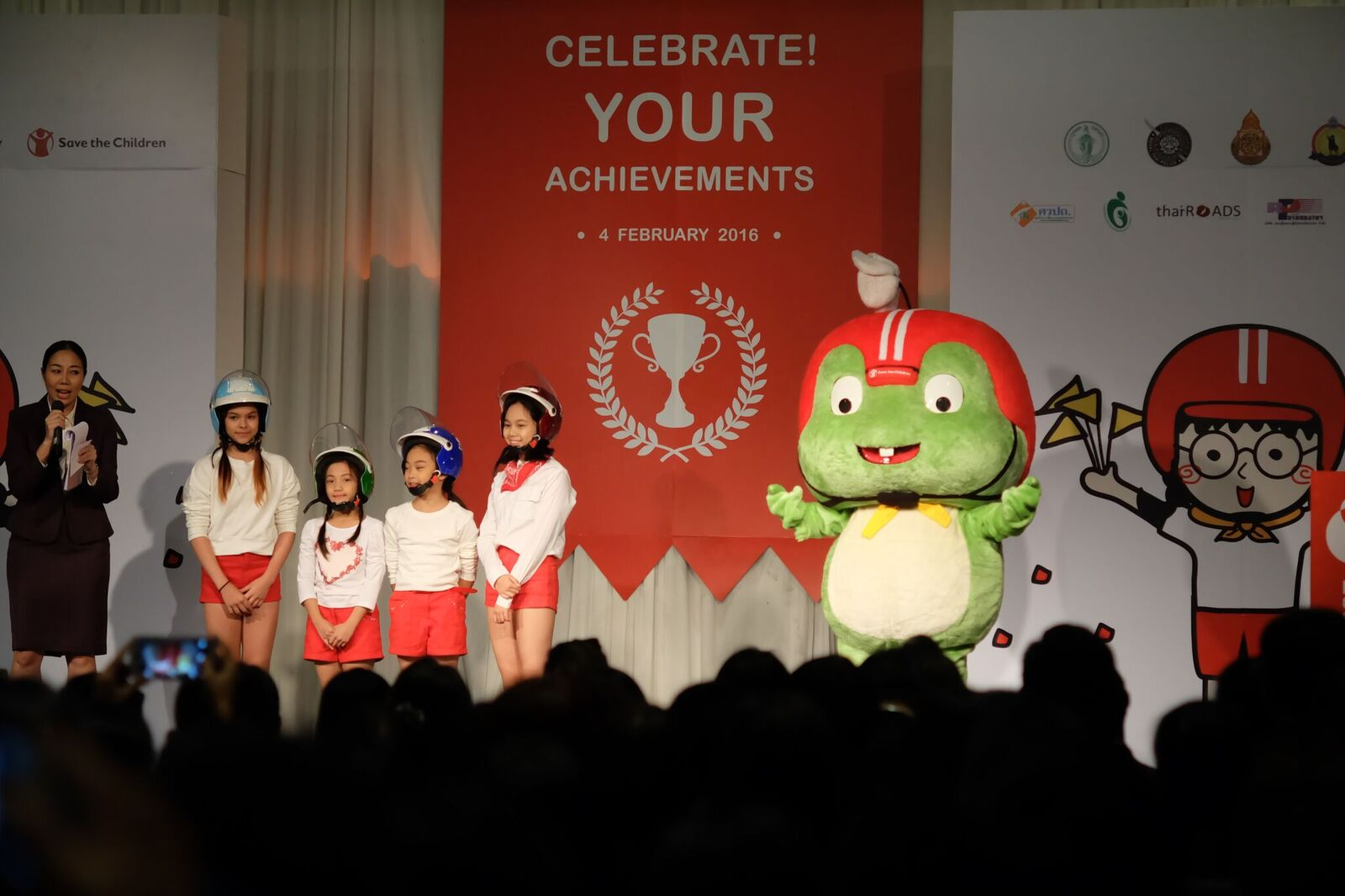 Save the Children progress in Bangkok schools road safety initiative