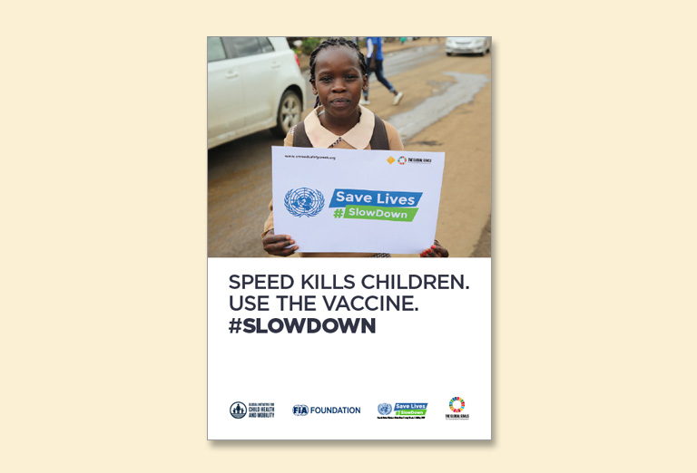 Speed Kills Children: Use the Vaccine