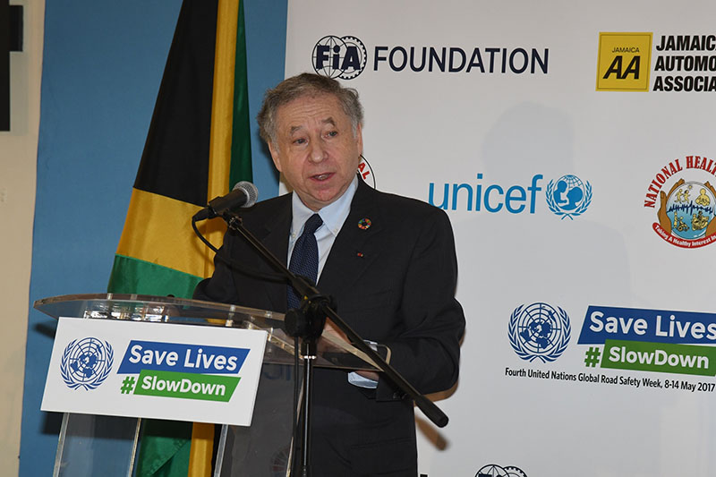 Jean Todt, UN Special Envoy for Road Safety.