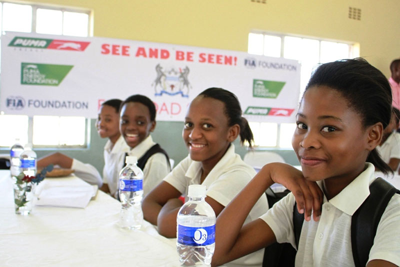Safe school crossings advocacy launched in Mozambique and Botswana