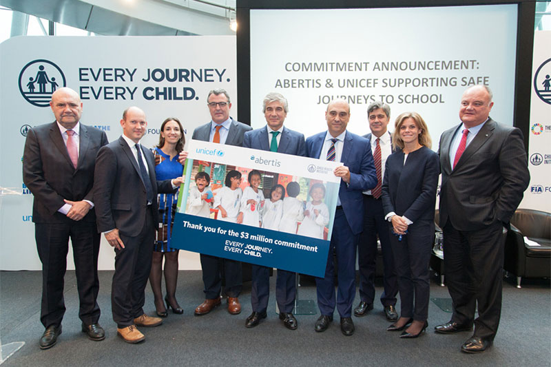 Safe journeys to school $3m commitment launched at London conference