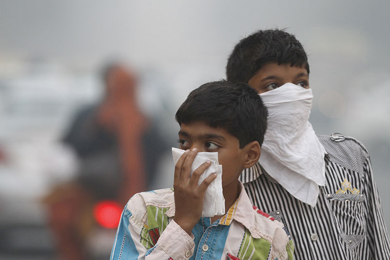 Children suffer most as 2,100 cities exceed maximum pollution levels