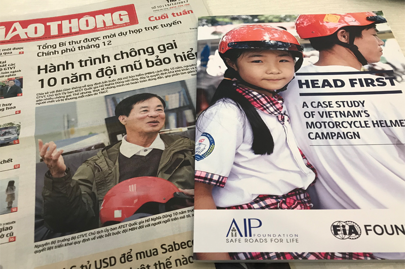 Report: Vietnamese helmet legislation saves 15,000 lives and $3.5bn in a decade