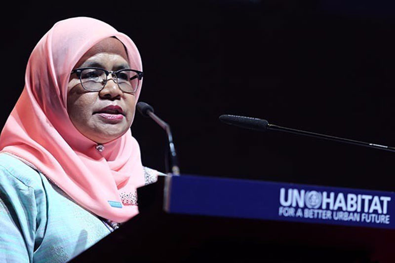 UN Habitat Executive Director Maimunah Mohd Sharif.