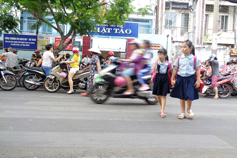 Ho Chi Minh City adopts pedestrian school safety plan
