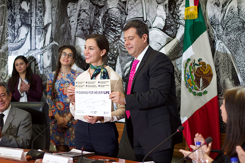 Vision Zero for Youth and the #EveryLife Declaration at the heart of Mexico City's political agenda