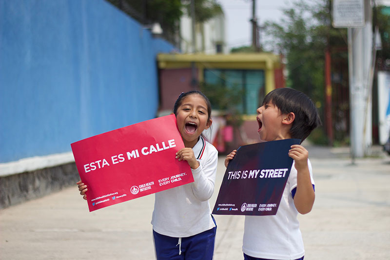 NGOs, schools and families are supporting the campaign for a global summit and high level action, reminding policymakers that #ThisIsMyStreet.