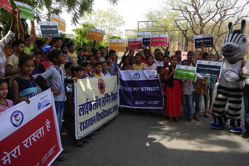 Student demonstration organised in India organised by Prenara Singh.