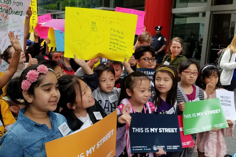 Children told lawmakers 'Enough! Pass the bill!'