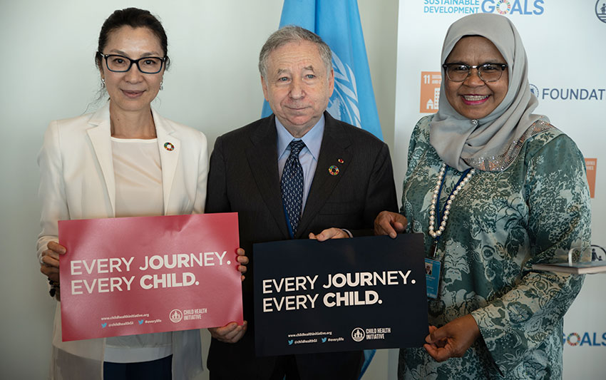 At SDG forum, UN leaders rally to counter urban traffic's impact on child and adolescent health