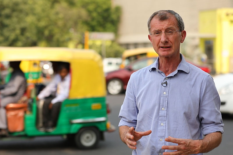 In Delhi, child rights leader highlights need to act on health impacts of traffic