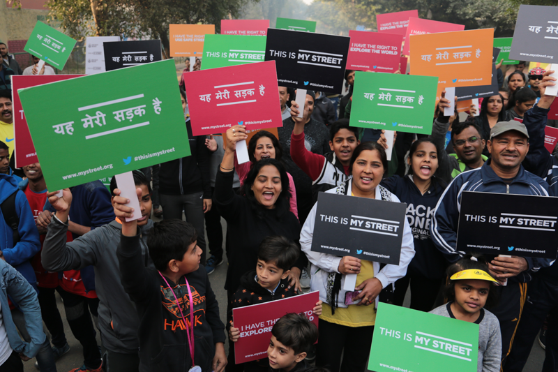 The Gurugram community came out in force to support the This is My Street Campaign.