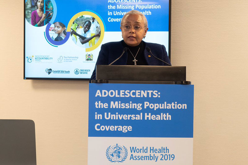 Child Health Initiative joins a new partnership for Adolescent Health at World Health Assembly