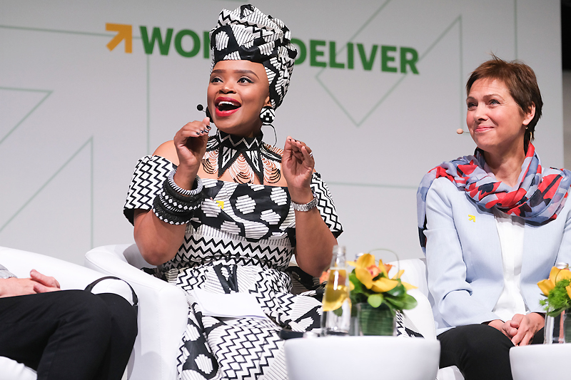 Zoleka Mandela calls for global focus on adolescence at Women Deliver 2019