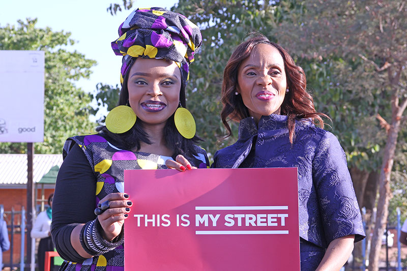 Botswana's First Lady leads safe school journey launch