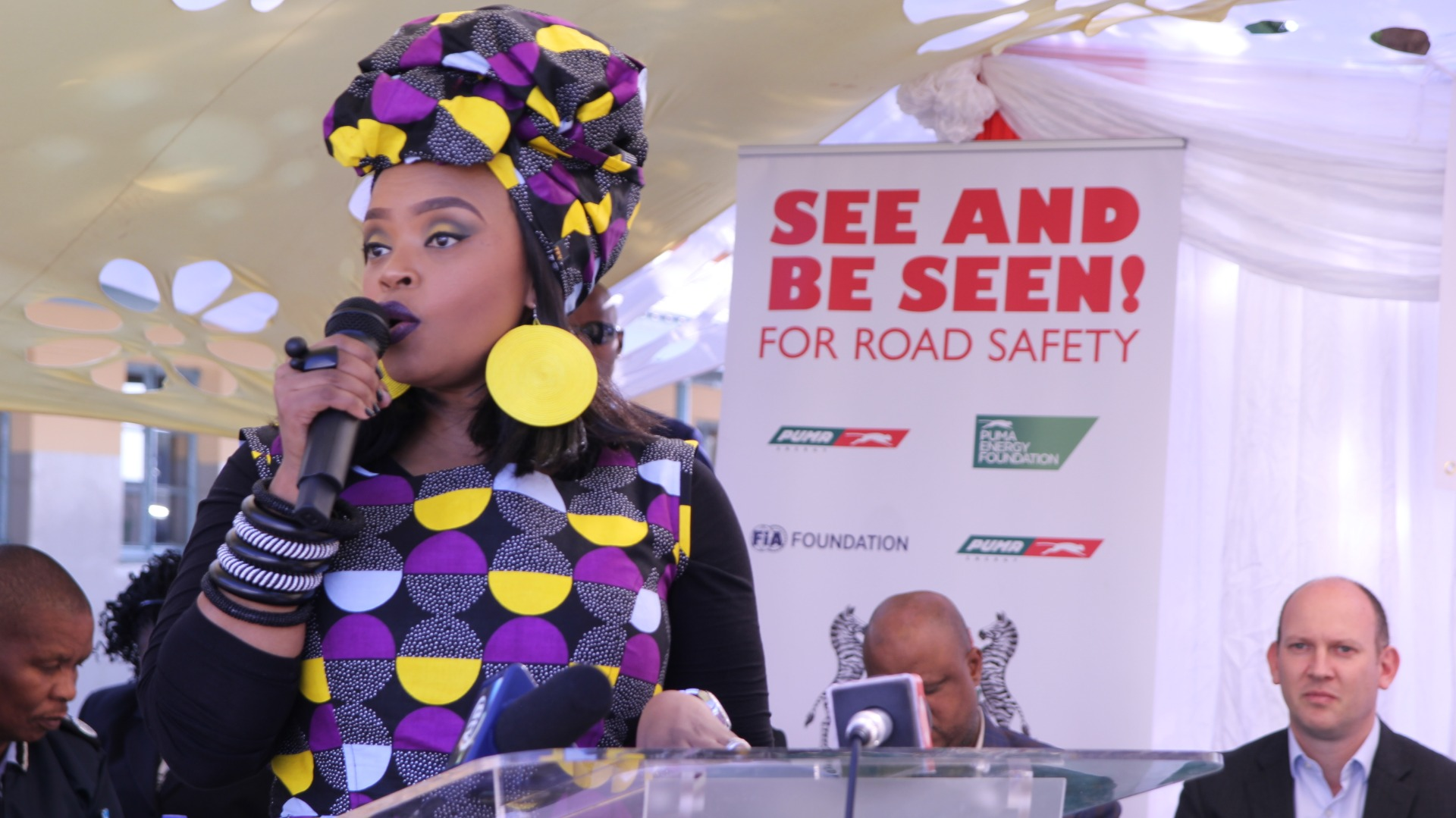 Child Health Initiative Global Ambassador Zoleka Mandela emphasised that initiatives such as this road safety programme should be given a priority as a solution for adolescent health.