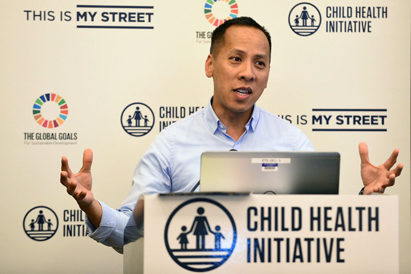 WHO's Nhan Tran presented opportunities for adolescent advocacy at the upcoming road safety ministerial conference in Sweden.