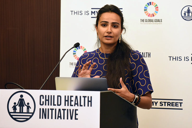 Ankita Chachra of NACTO's Global Designing Cities Initiative previewed the Streets for Kids initiative supported by a consortium of donors: Bloomberg Philanthropies, Fondation Botnar, Bernard van Leer Foundation and FIA Foundation.