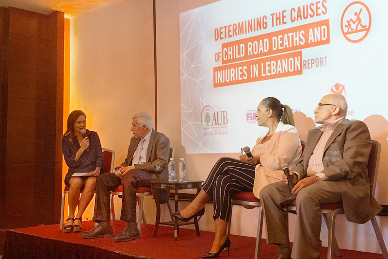 Panel discussion: How can we stop children's death and injury on Lebanon's roads?