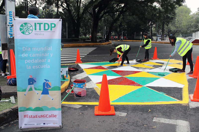 Local communities promote Vision Zero for Youth in Mexican cities