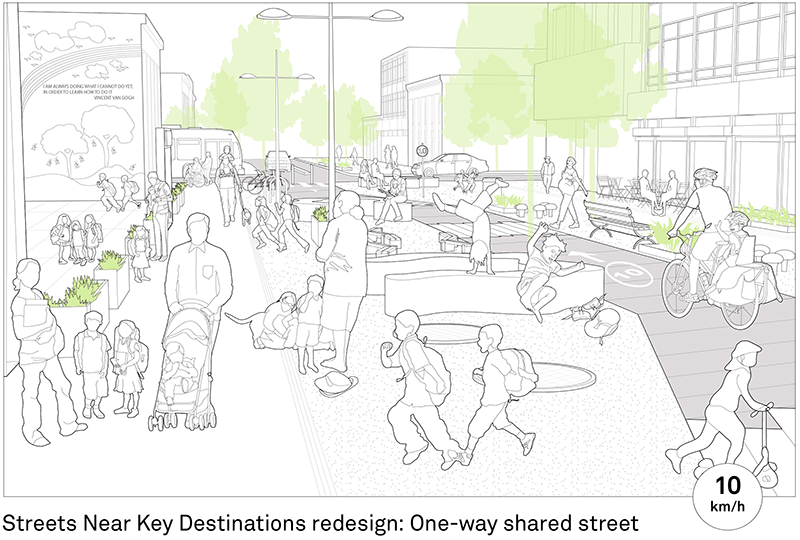 The guide explains how to design for people first, with a focus on the specific needs of babies, children, and their caregivers as pedestrians, cyclists, and transit users in urban streets.