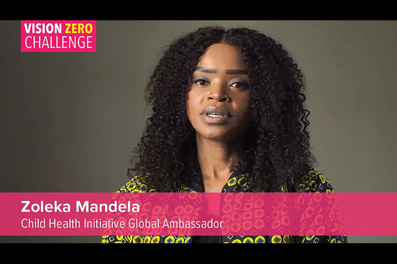Vision Zero Challenge: Creating A Safe Mobility System For Children webinar for cities